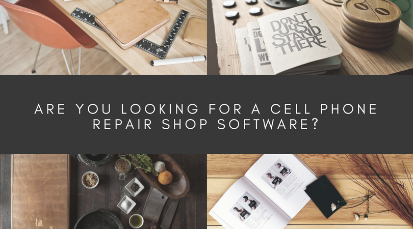 Cell Phone Repair Shop Software