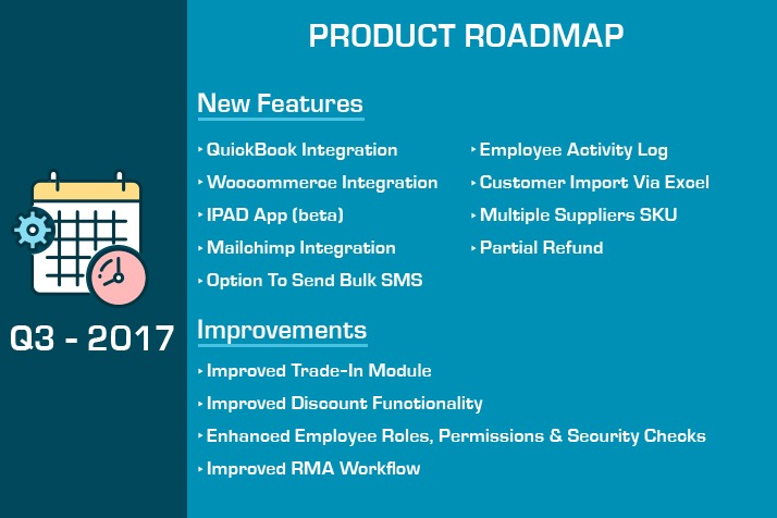 repairdesk Q3 Roadmap features