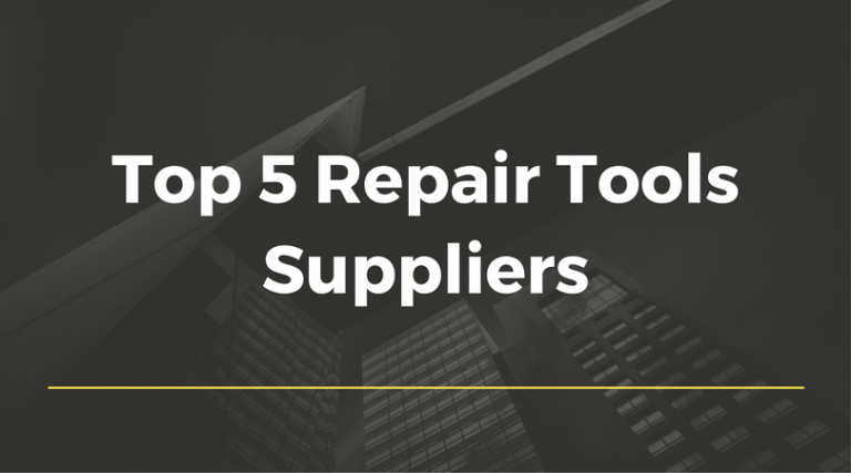 Order the Finest Repair Tools From These Suppliers