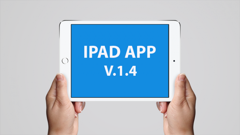 New Features, Display Tweaks and Bug Fixes in iPad App V.1.4