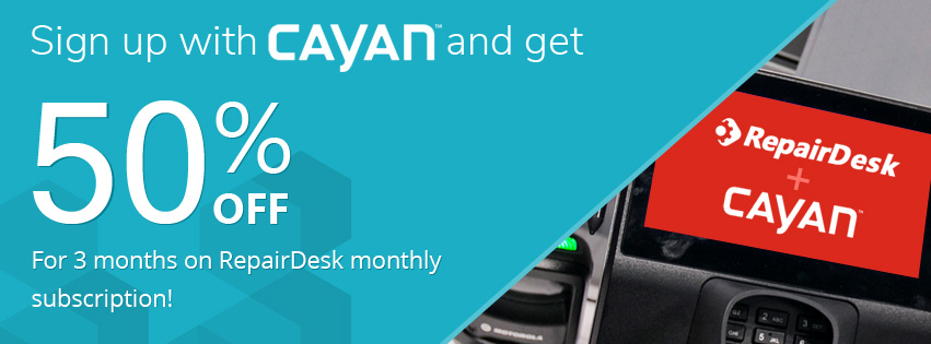 cayan repairdesk discount offer