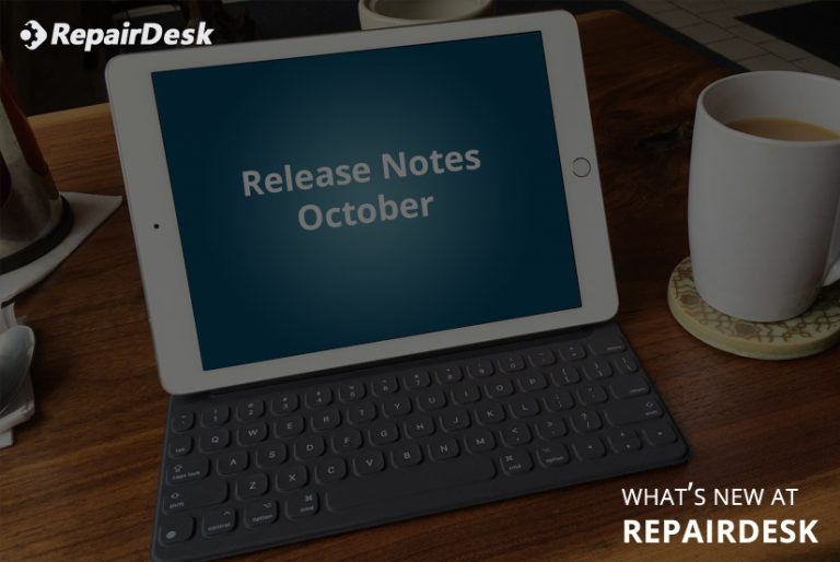 Release Notes -iPad POS Register