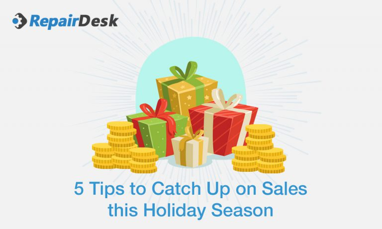 5 Tips to catch up on sales this holiday season!