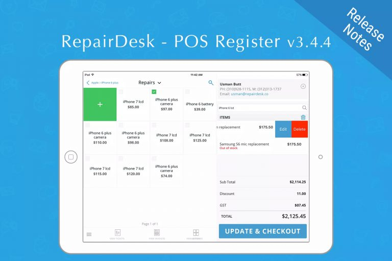 Close Out 2018 with v3.4.4 of the iPad POS Register App