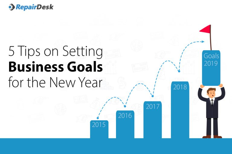 5 Tips on Setting Business Goals for the New Year