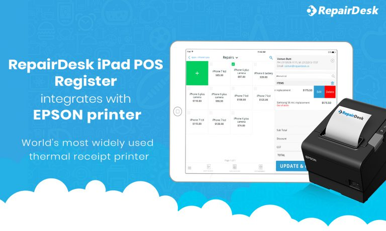 Setup Your EPSON Printer with the Latest Version of the RepairDesk iPad POS Register App