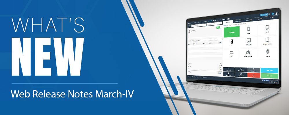 Web Release Notes March IV