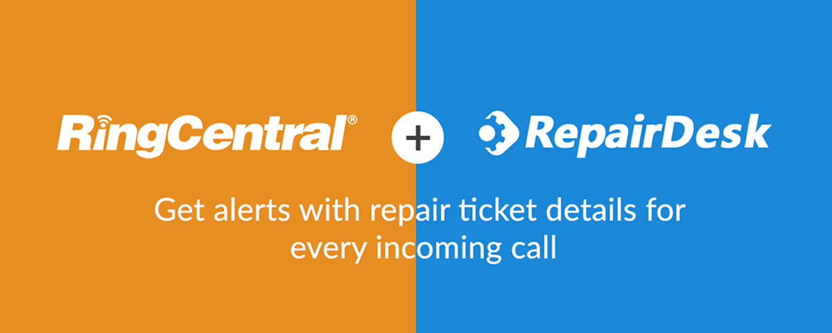 RepairDesk RingCentral integration announcement