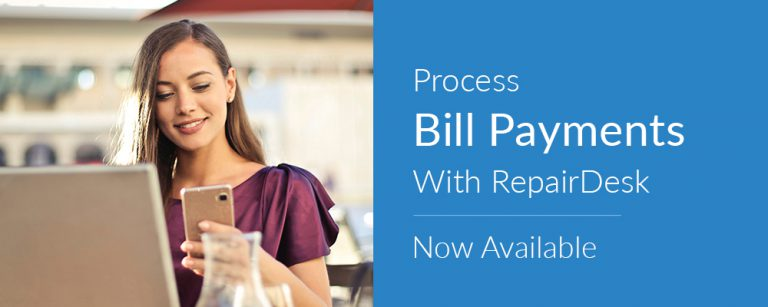 Bill Payments with RepairDesk – Now Available!