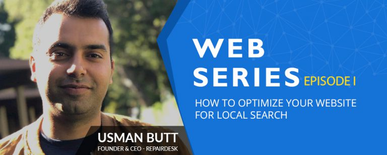 LIVE Session on How to Optimize your Website for Local SEO – Conducted by RepairDesk