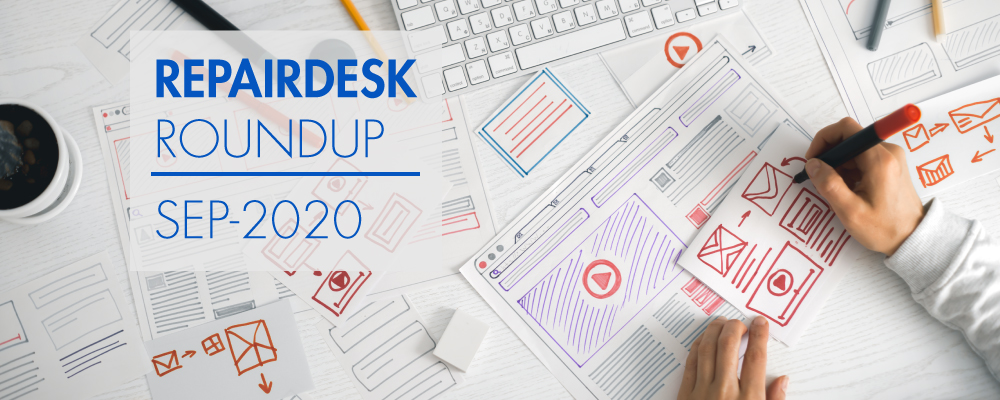 RepairDesk September 2020 Round-Up new features and improvements